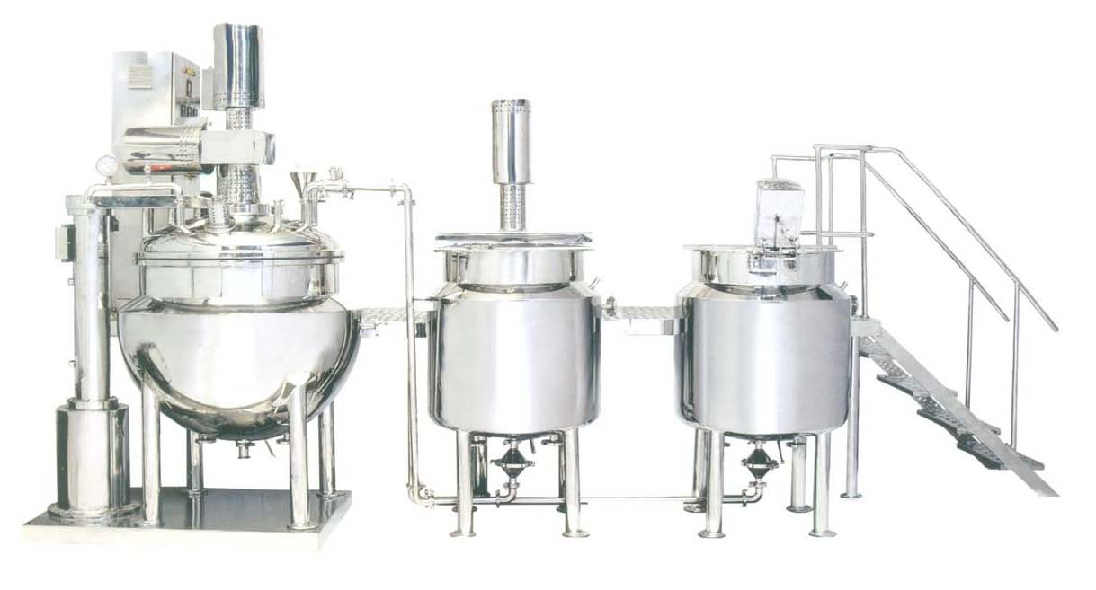 Ointment/Cream Manufacturing Plant