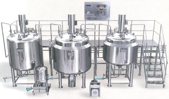 Liquid /Syrup  manufacturing  Plant