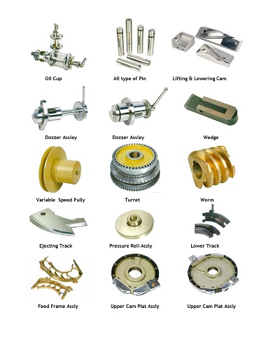 Spares for Tablet Press