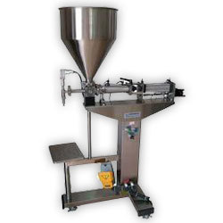 Semi Auto Jar Filling Machine